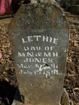 JONES, LETHIE - Boone County, Arkansas | LETHIE JONES - Arkansas Gravestone Photos