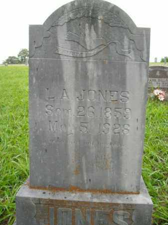 JONES, L. A. - Boone County, Arkansas | L. A. JONES - Arkansas Gravestone Photos