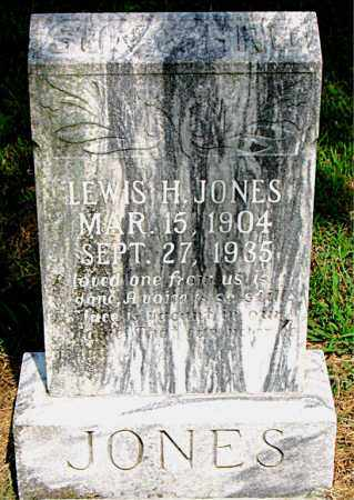 JONES, LEWIS H. - Boone County, Arkansas | LEWIS H. JONES - Arkansas Gravestone Photos