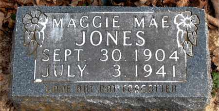 JONES, MAGGIE  MAE - Boone County, Arkansas | MAGGIE  MAE JONES - Arkansas Gravestone Photos