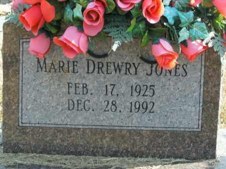 DREWRY JONES, MARIE - Boone County, Arkansas   MARIE DREWRY JONES - Arkansas Gravestone Photos