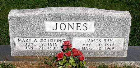 SCHEIHING JONES, MARY A. - Boone County, Arkansas | MARY A. SCHEIHING JONES - Arkansas Gravestone Photos