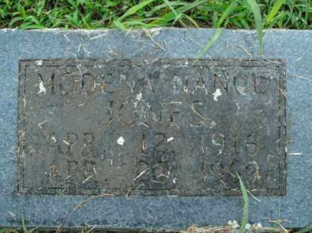 NANCE JONES, MODENA - Boone County, Arkansas | MODENA NANCE JONES - Arkansas Gravestone Photos