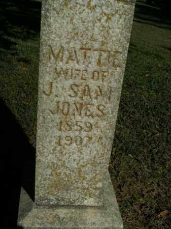 JONES, MATTIE - Boone County, Arkansas | MATTIE JONES - Arkansas Gravestone Photos
