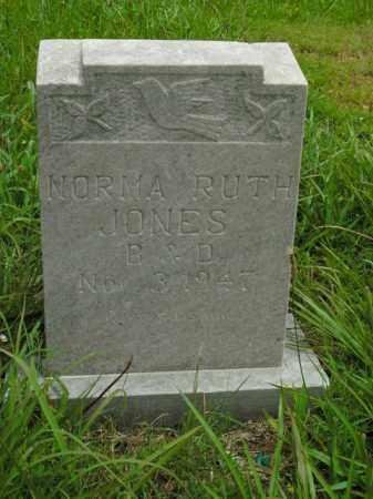 JONES, NORMA RUTH - Boone County, Arkansas | NORMA RUTH JONES - Arkansas Gravestone Photos