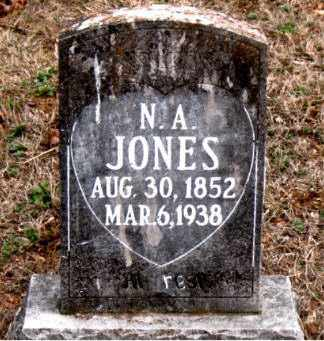 JONES, N.  A. - Boone County, Arkansas | N.  A. JONES - Arkansas Gravestone Photos