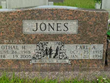 JONES, OTHAL H. - Boone County, Arkansas | OTHAL H. JONES - Arkansas Gravestone Photos