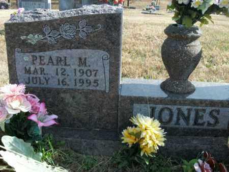 MOORE JONES, PEARL - Boone County, Arkansas   PEARL MOORE JONES - Arkansas Gravestone Photos