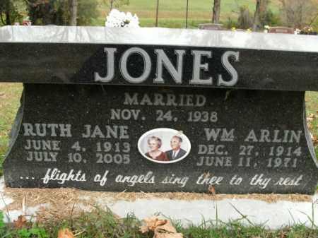 JONES, RUTH JANE - Boone County, Arkansas   RUTH JANE JONES - Arkansas Gravestone Photos