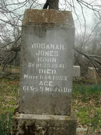 JONES, ROSANAH - Boone County, Arkansas | ROSANAH JONES - Arkansas Gravestone Photos