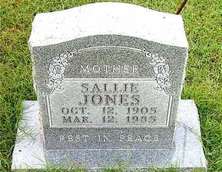 JONES, SALLIE - Boone County, Arkansas   SALLIE JONES - Arkansas Gravestone Photos