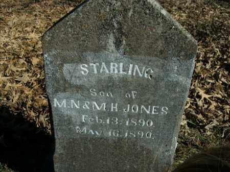 JONES, STARLING - Boone County, Arkansas | STARLING JONES - Arkansas Gravestone Photos