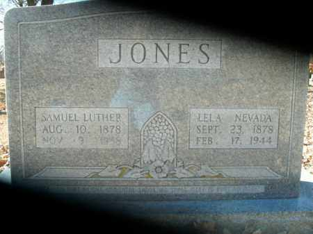 JONES, SAMUEL LUTHER - Boone County, Arkansas | SAMUEL LUTHER JONES - Arkansas Gravestone Photos