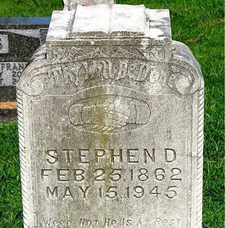 JONES, STEPHEN D. - Boone County, Arkansas | STEPHEN D. JONES - Arkansas Gravestone Photos