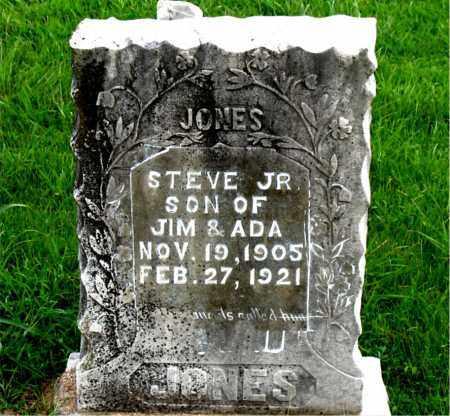 JONES, STEVE JR. - Boone County, Arkansas | STEVE JR. JONES - Arkansas Gravestone Photos