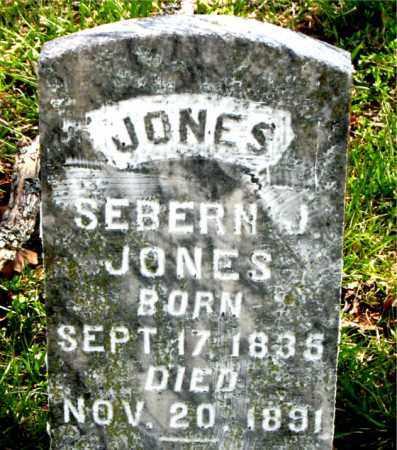JONES, SEBERN J. - Boone County, Arkansas   SEBERN J. JONES - Arkansas Gravestone Photos