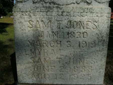 JONES, ALMYRA E. - Boone County, Arkansas | ALMYRA E. JONES - Arkansas Gravestone Photos
