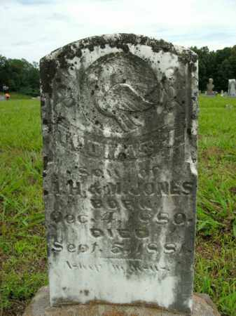 JONES, THOMAS J. - Boone County, Arkansas   THOMAS J. JONES - Arkansas Gravestone Photos