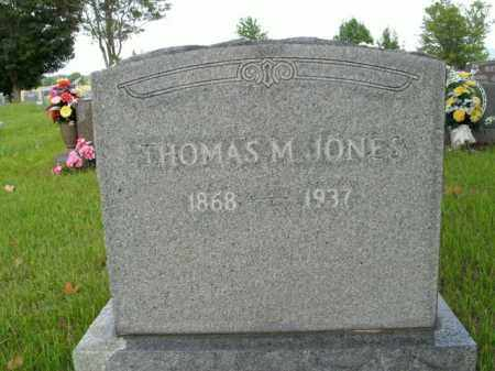 JONES, THOMAS M. - Boone County, Arkansas | THOMAS M. JONES - Arkansas Gravestone Photos