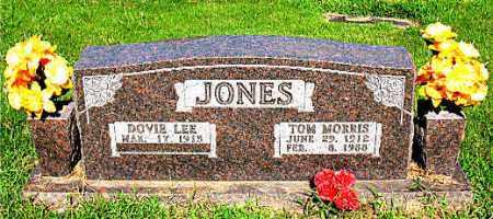 JONES, TOM MORRIS - Boone County, Arkansas | TOM MORRIS JONES - Arkansas Gravestone Photos