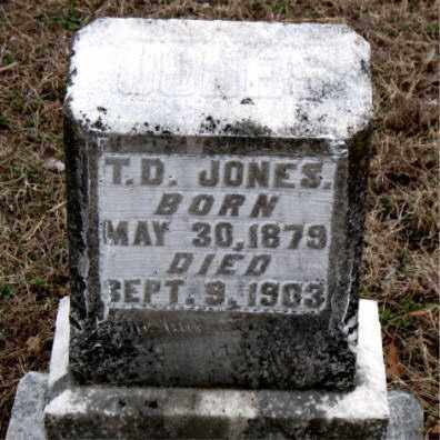JONES, T.  D. - Boone County, Arkansas | T.  D. JONES - Arkansas Gravestone Photos