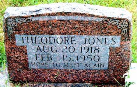 JONES, THEODORE - Boone County, Arkansas | THEODORE JONES - Arkansas Gravestone Photos
