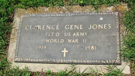 JONES (VETERAN WWII), CLARENCE GENE - Boone County, Arkansas | CLARENCE GENE JONES (VETERAN WWII) - Arkansas Gravestone Photos