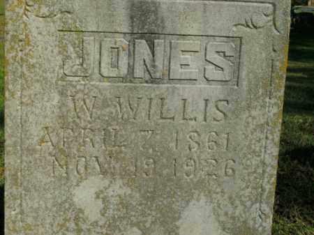 JONES, W. WILLIS - Boone County, Arkansas | W. WILLIS JONES - Arkansas Gravestone Photos