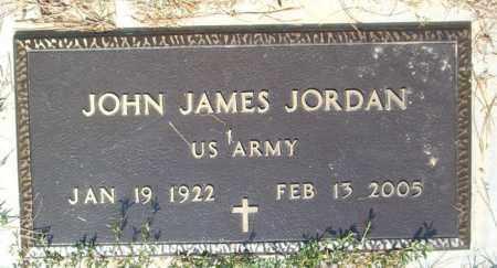 JORDAN  (VETERAN), JOHN JAMES - Boone County, Arkansas | JOHN JAMES JORDAN  (VETERAN) - Arkansas Gravestone Photos