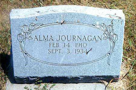 JOURNAGAN, ALMA - Boone County, Arkansas   ALMA JOURNAGAN - Arkansas Gravestone Photos