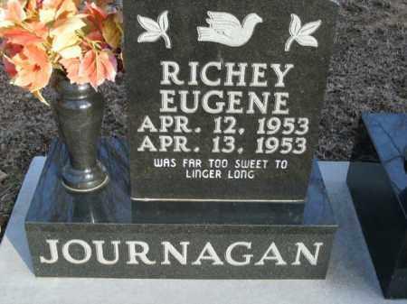 JOURNAGAN, RICHEY EUGENE - Boone County, Arkansas | RICHEY EUGENE JOURNAGAN - Arkansas Gravestone Photos
