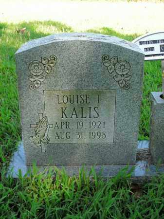 KALIS, LOUISE I. - Boone County, Arkansas | LOUISE I. KALIS - Arkansas Gravestone Photos