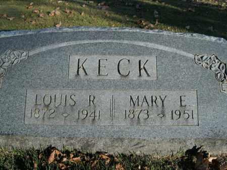 KECK, LOUIS R. - Boone County, Arkansas | LOUIS R. KECK - Arkansas Gravestone Photos