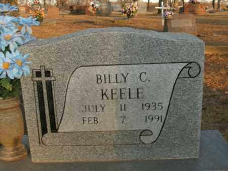 KEELE, BILLY C. - Boone County, Arkansas | BILLY C. KEELE - Arkansas Gravestone Photos