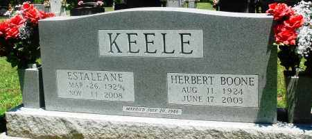 KEELE, ESTALEANE - Boone County, Arkansas | ESTALEANE KEELE - Arkansas Gravestone Photos