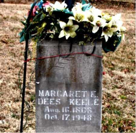 DEES KEELE, MARGARET E. - Boone County, Arkansas | MARGARET E. DEES KEELE - Arkansas Gravestone Photos