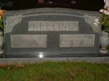 KEELING, MAUDIE L. - Boone County, Arkansas | MAUDIE L. KEELING - Arkansas Gravestone Photos