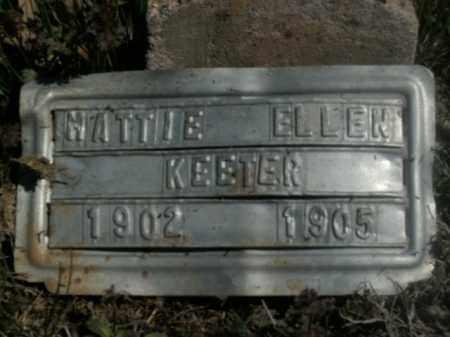 KEETER, MATTIE ELLEN - Boone County, Arkansas | MATTIE ELLEN KEETER - Arkansas Gravestone Photos