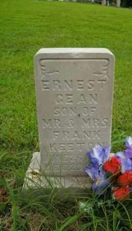 KEETON, ERNEST GEAN - Boone County, Arkansas | ERNEST GEAN KEETON - Arkansas Gravestone Photos