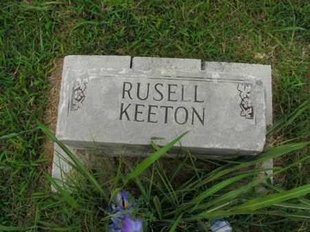 KEETON, RUSELL - Boone County, Arkansas | RUSELL KEETON - Arkansas Gravestone Photos