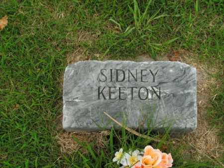 KEETON, SIDNEY - Boone County, Arkansas | SIDNEY KEETON - Arkansas Gravestone Photos