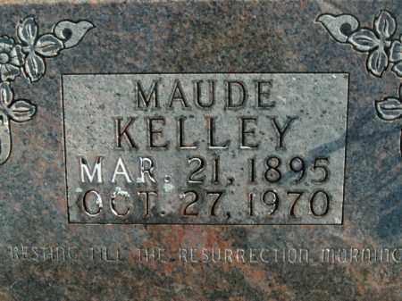 KELLEY, MAUDE - Boone County, Arkansas   MAUDE KELLEY - Arkansas Gravestone Photos