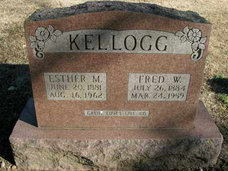 KELLOGG, ESTHER M. - Boone County, Arkansas | ESTHER M. KELLOGG - Arkansas Gravestone Photos