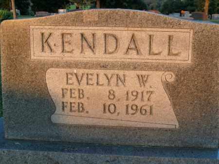 KENDALL, EVELYN MODENA - Boone County, Arkansas | EVELYN MODENA KENDALL - Arkansas Gravestone Photos