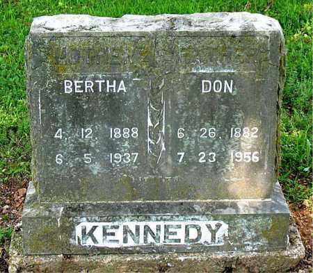 KENNEDY, BERTHA - Boone County, Arkansas | BERTHA KENNEDY - Arkansas Gravestone Photos