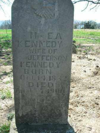 KENNEDY, E.A. - Boone County, Arkansas | E.A. KENNEDY - Arkansas Gravestone Photos