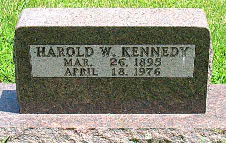 KENNEDY, HAROLD W. - Boone County, Arkansas   HAROLD W. KENNEDY - Arkansas Gravestone Photos