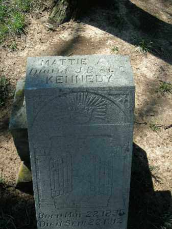 KENNEDY, MATTIE A. - Boone County, Arkansas   MATTIE A. KENNEDY - Arkansas Gravestone Photos