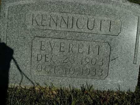 KENNICUTT, EVERETT - Boone County, Arkansas   EVERETT KENNICUTT - Arkansas Gravestone Photos