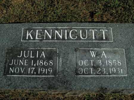 KENNICUTT, WALTER A. - Boone County, Arkansas | WALTER A. KENNICUTT - Arkansas Gravestone Photos